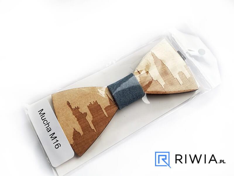 24361bcce3ee52 Kup teraz! Drewniana muszka M16 - Sklep Riwia.pl