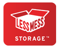 less mess storage logo